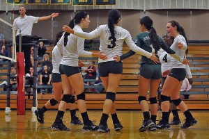 Bellevue College Defeats SCC Volleyball 3-0